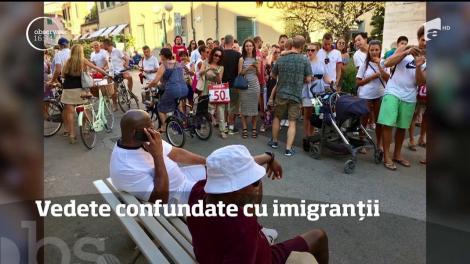 Două mari vedete sau refugiaţi?! Poliţiştii italieni au dat-o în bară! Magic Johnson şi actorul Samuel L. Jackson, confundaţi cu doi imigranţi