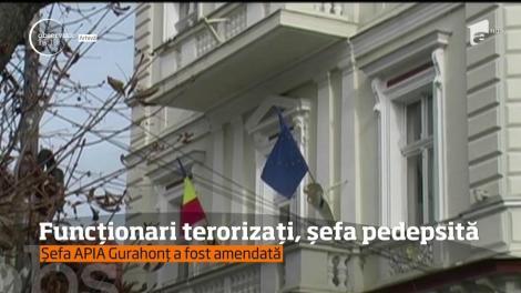 Şefa unei instituţii publice a fost condamnată penal pentru că îşi teroriza angajaţii