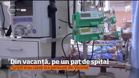 7 copii şi 2 adulţi, turişti în Ţara Mănăstirilor, au ajuns la spital. Simptomele indicau o toxiinfecţie alimentară