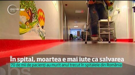 Suntem într-un top, dar e motiv de îngrijorare! România, prima din Uniunea Europeană în clasamentul deceselor din spitale care ar fi putut fi evitate