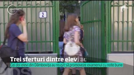 Cei doi elevi din Dâmboviţa, eliminaţi de la BAC din cauza scrisului, au reuşit să promoveze examenul! Au luat note foarte mari!
