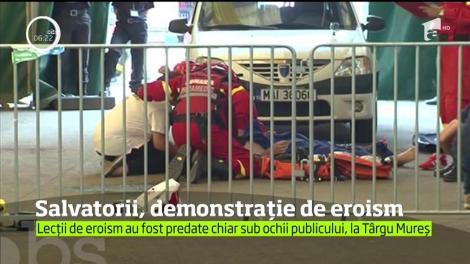 Competiţia Mondială de Descarcerare şi de Acordare a Primului Ajutor Calificat a avut loc la Târgu Mureş