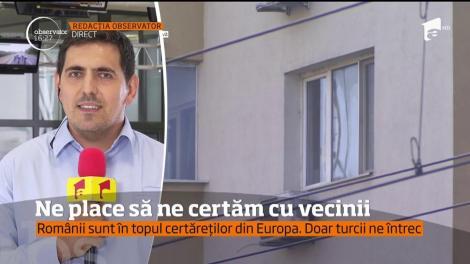 Românii sunt în topul certăreţilor din Europa, Doar turcii ne întrec