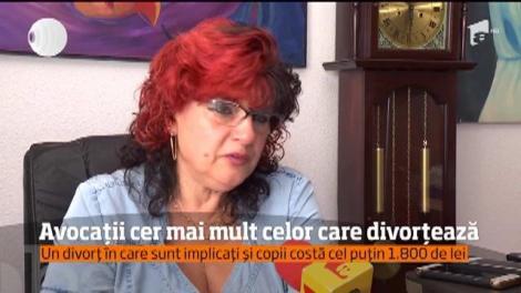 Divorţul ne costă mult şi la figurat dar, mai nou, şi la propriu