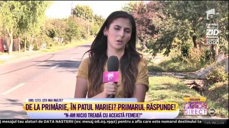 Primarul acuzat că ar fi fost în patul Mariei Constantin răspunde acuzaţiilor!