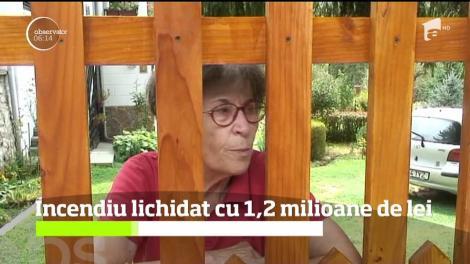1,2 milioane de lei pentru lichidarea incendiului de la groapa de gunoi din Măldăreşti