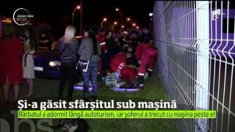Un bărbat de 50 de ani din Baia Mare şi-a găsit sfârşitul sub o maşină