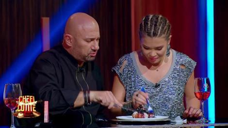 Este delicios! Au degustat și au ales. Gina Pistol și Cătălin Scărlătescu și-au ales tortul de nuntă!