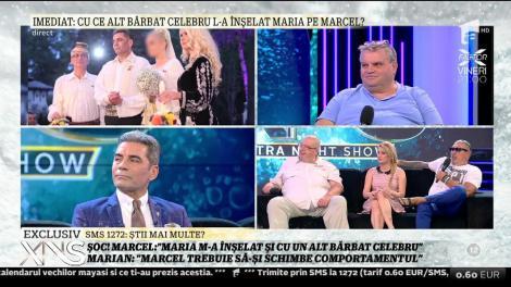 """Marcel Toader: """"Maria m-a înșelat și cu un alt bărbat celebru"""""""