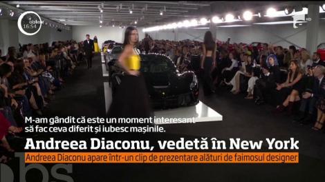 Andreea Diaconu, vedetă la Săptămânei Modei de la New York
