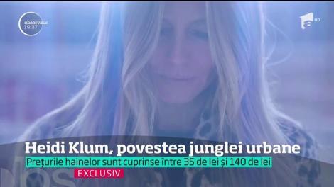 """Heidi Klum, interviu exclusiv pentru Observator: """"M-a inspirat oraşul New York, iar New York pentru mine este o junglă urbană"""""""