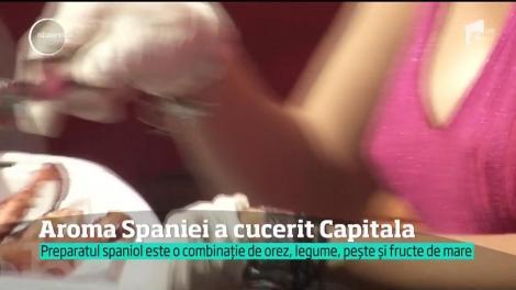 Un parc din Capitală s-a transformat în cea mai mare bucătărie cu specific spaniol