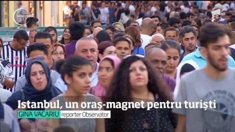 Istanbul, un oraș-magnet pentru turiști