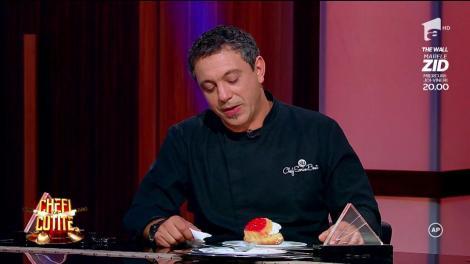 """Cătălin Scărlătescu caută desertul perfect pentru Sorin Bontea: """"Vreau niște savarine cum era pe vremea lui Ceaușescu!"""""""