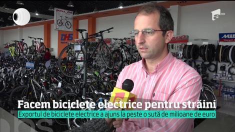 România produce biciclete electrice doar pentru export