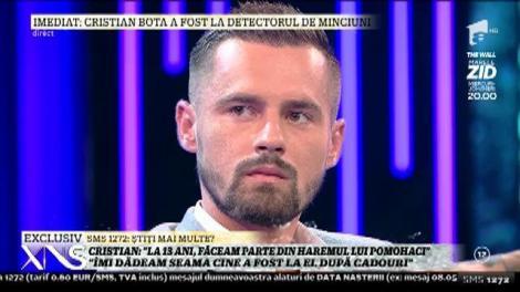 """Cristian, presupusă victimă a lui Pomohaci: """"Atrăgea băieții cu cadouri. De rușine nu am vorbit cu nimeni"""""""