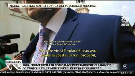 """Vasile Bănescu, purtător de cuvânt al Bisericii Ortodoxe Române: """"Demersul lui Pomohaci este împotriva logicii. Caterisirea, în mod firesc, este ireversibilă"""""""
