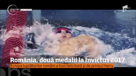 Avem doua medalie la Invictus. Locotenentul Ciprian Iriciuc a cucerit bronzul la proba de canotaj în sală