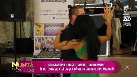 La nuntă de argint distracţia e în toi! Constantina iubeşte dansul, dar Raymond îl detestă, aşa că ea şi-a găsit un partener pe măsură!
