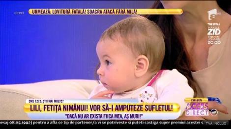 """Vrea cu orice preţ să-și crească fiica: """"Cei de la DGASPC mi-au spus că dacă nu îmi refac casa îmi iau copilul"""""""