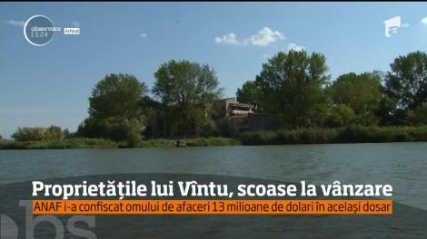 Proprietăţile lui Sorin Ovidiu Vîntu, confiscate de stat în dosarul FNI, au fost scoase la licitaţie