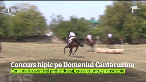 Domeniul Cantacuzino de la Floreşti a fost luat cu asalt de pasionaţii de echitaţie