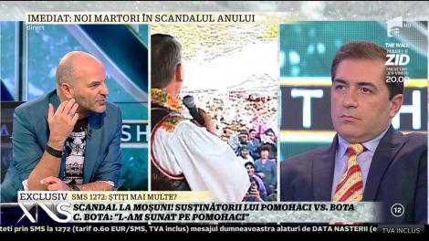 """Cristian Bota a recunoscut: """"Eu l-am sunat pe părintele Pomohaci!"""""""