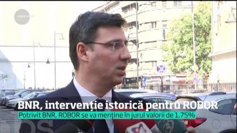 BNR, intervenţie istorică pentru ROBOR. Previziuni sumbre pentru ratele românilor