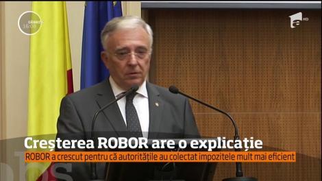 Guvernatorul BNR a explicat de ce ROBOR-ul a crescut atât de mult
