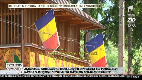 """Petru Matei, sătean din Moşuni: """"Băieţii care lucrează pentru Pomohaci sunt foarte agresivi """""""