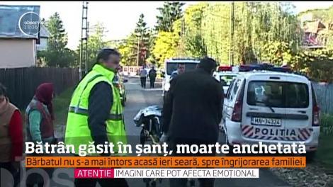 Este alertă în Argeş! Un barbat a fost gasit mort într-un şanţ, iar politiştii cred că ar putea fi vorba chiar despre un accident rutier
