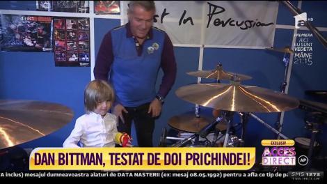 """Dan Bittman, testat de doi prichindei! Artistul este prezentatorul emisiunii """"Aici eu sunt vedeta"""""""