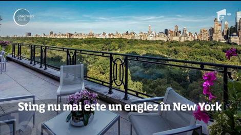 Sting nu mai este un englez în New York! Artistul și-a vândut penthouse-ul cu 50 de milioane de dolari