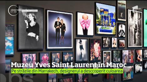 Muzeul Yves Saint Laurent din Marrakech, inaugurat după trei ani de amenajări