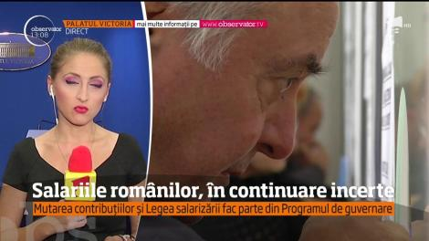 Salariile românilor, în continuare incerte