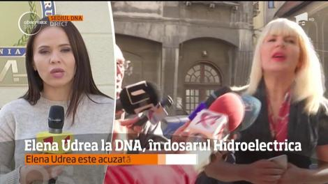 Elena Udrea a dat explicaţii în faţa procurorilor anticorupţie, în dosarul Hidroelectrica