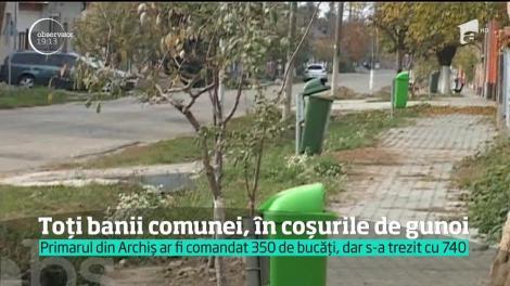 Un primar din judeţul Arad şi-a îngropat comuna în datorii