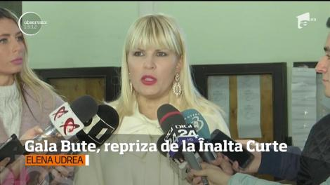 """Elena Udrea s-a prezentat la Înalta Curte de Casaţie şi Justiţie, la primul termen al apelului din dosarul """"Gala Bute""""!"""