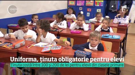 Schimbare importantă în învăţământul din România. Uniforma şcolară ar putea redeveni obligatorie
