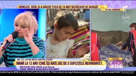 """Mirela Vaida se revoltă! Afirmațiile primarului localității în care locuiește fetiţa de 12 ani transformată în mamă sunt incredibile: """"Aţi găsit soluția repede! Mie mi-a sunat ca și cum să vină să-i ia"""""""