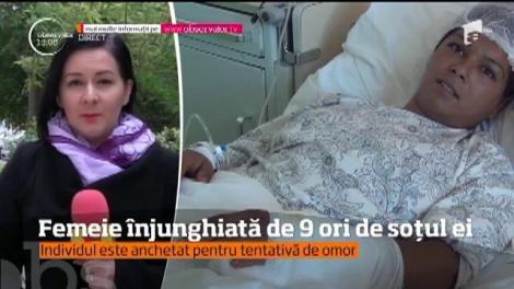 Caz înfiorător în Baia Mare. O femeie înjunghiată de 9 ori de soțul ei