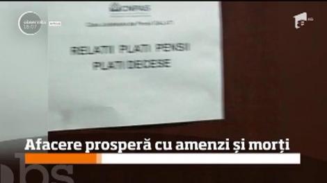 """O angajată de la Taxe şi Impozite Bucureşti, """"afacere"""" prosperă din amendarea morților!"""