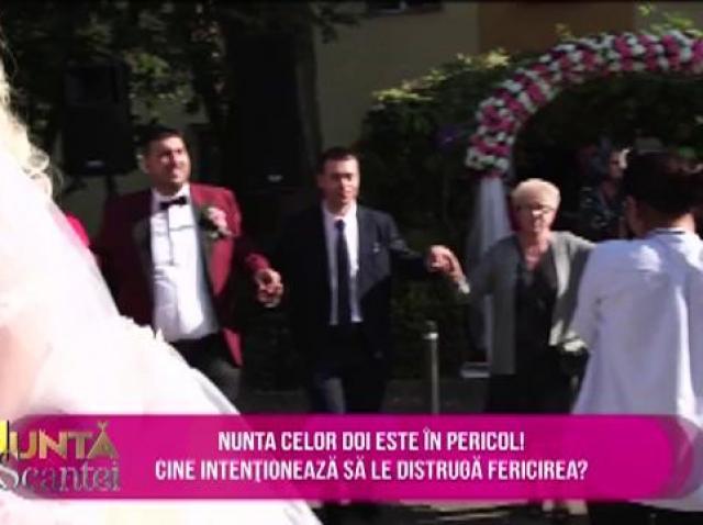 Nunta Roxanei și a lui Gabi a fost sabotată. Poliția a fost nevoită să intervină