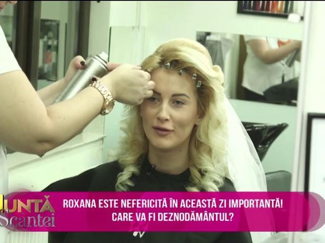 Roxana și-a uitat coronița de mireasă acasă. Cum își va mai aranja aceasta părul?