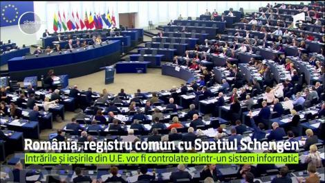 Intrările şi ieşirile din Uniunea Europeană vor fi controlate printr-un sistem informatic unitar implementat în Spaţiul Schengen
