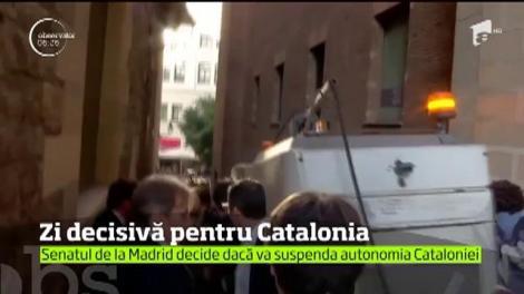 Viitorul Cataloniei este în mâinile Madridului!