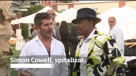 Simon Cowell, creatorul show-ului X FACTOR, a fost spitalizat. Motivul?!