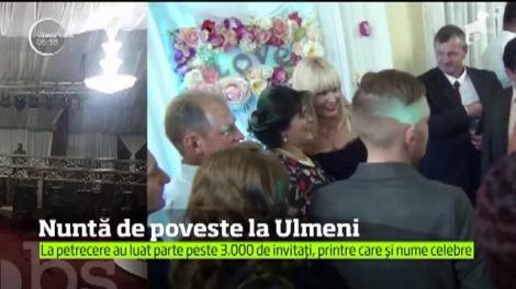 Primele imagini de la NUNTA ANULUI din România! Peste 3.000 de persoane participă la evenimentul primarului din Ulmeni. Cât l-a costat mâncarea