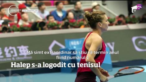 Simona Halep s-a logodit! Cu tenisul