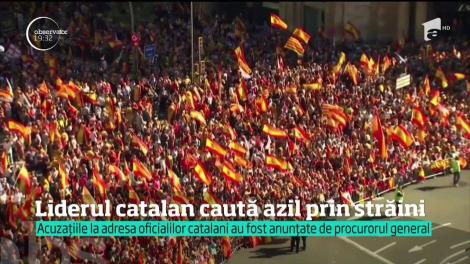 Liderii separatişti care au susţinut independenţa Cataloniei vor fi judecaţi pentru rebeliune. Puigdemont ar fi fugit deja din Spania